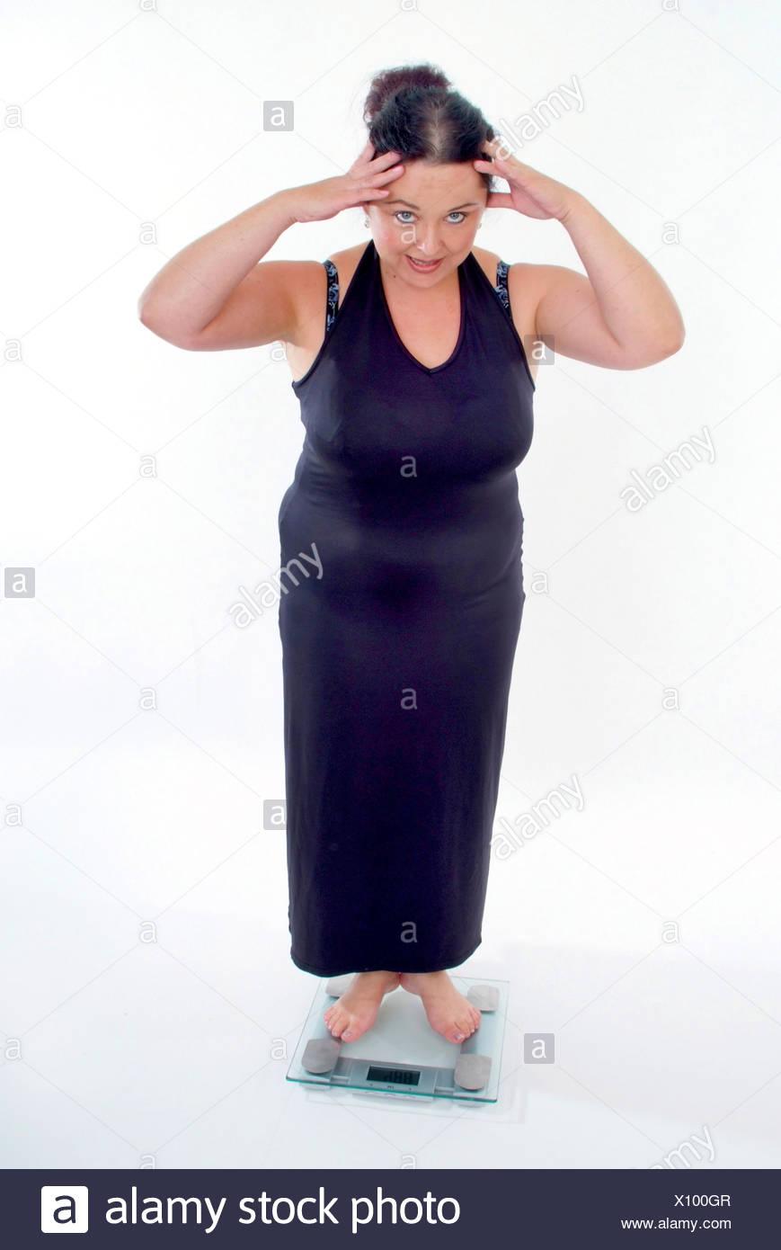 Mature natural chubby