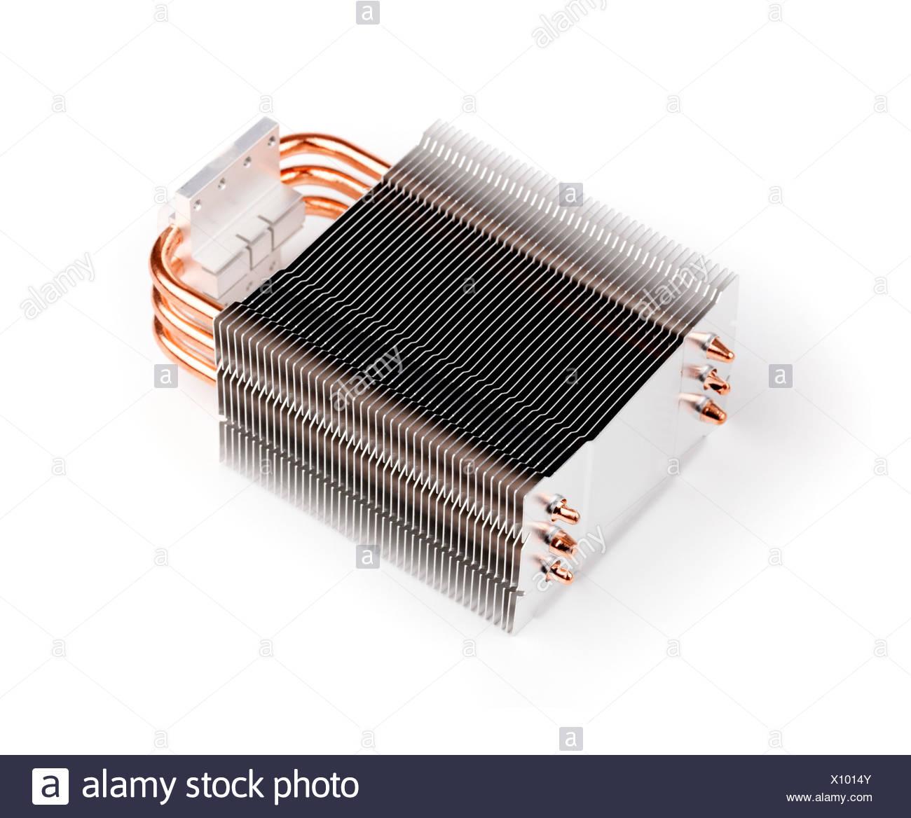 CPU cooler - Stock Image