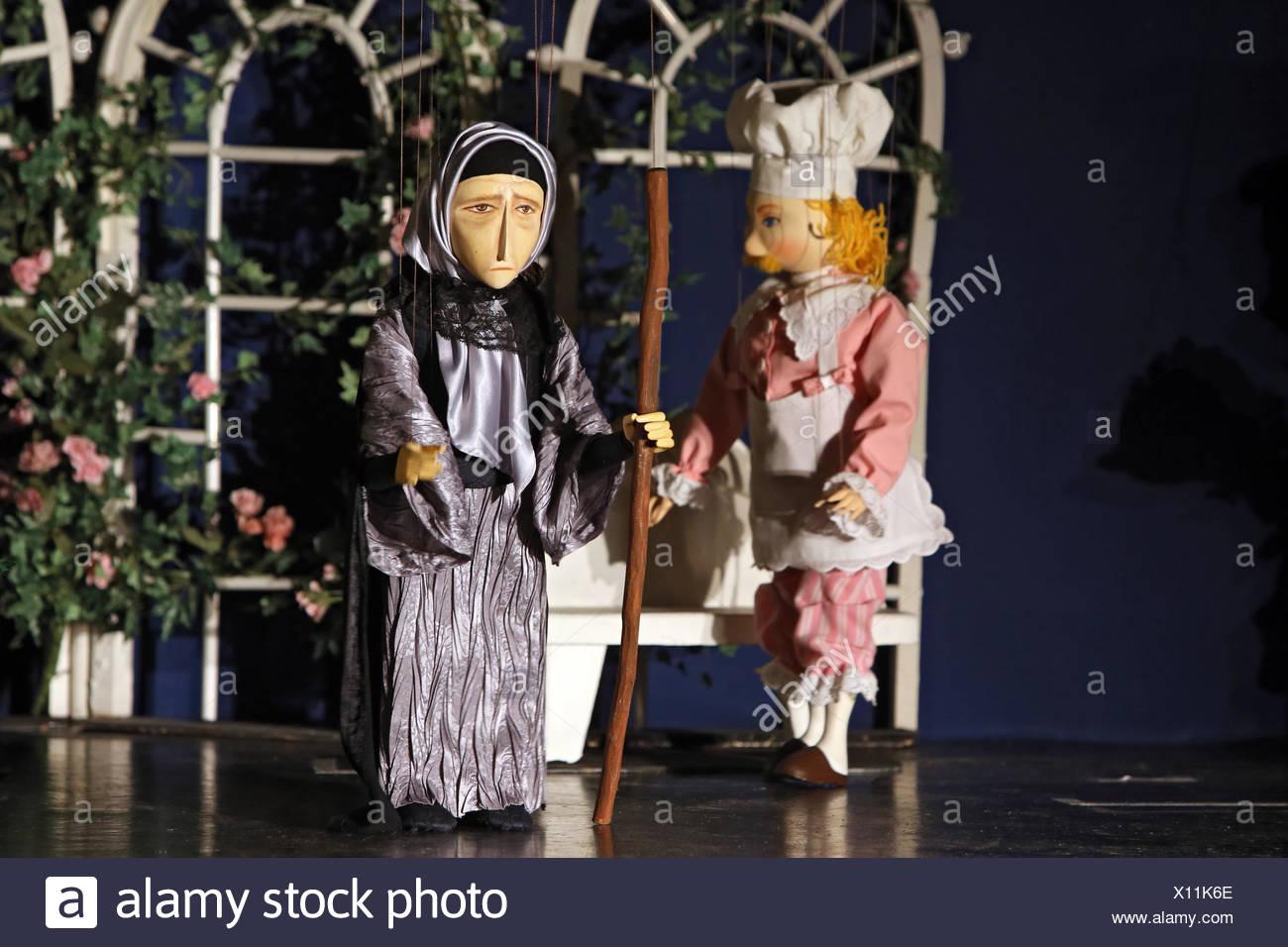 Zuerich, Switzerland, puppetry - Stock Image
