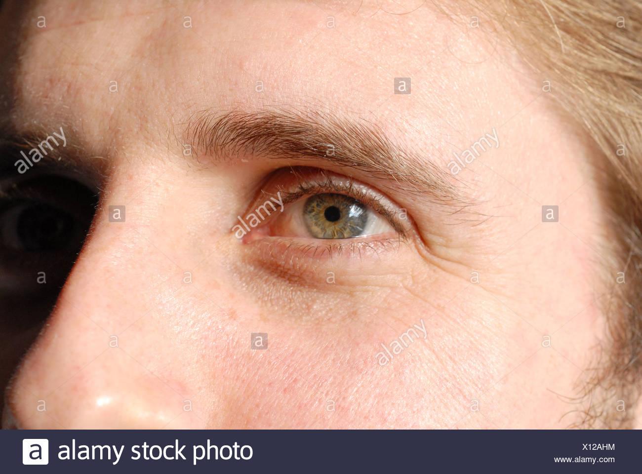 Close up image of male's eyeCharles Milligan Stock Photo