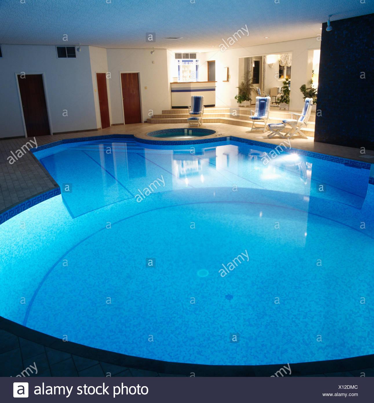 Indoor Swimming Pools Stock Photos & Indoor Swimming Pools