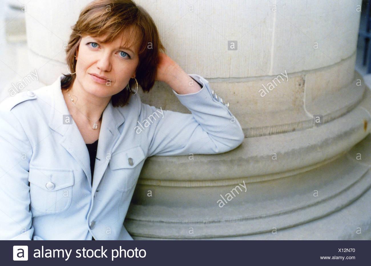 Hummel, Eleonora, * 1970, German author / writer, half length, International PEN Congress, Berlin, 22. - 28.5.2006, Additional-Rights-Clearances-NA - Stock Image