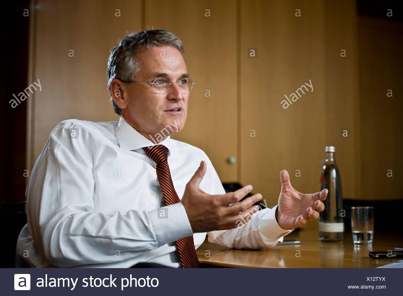 Peter Frey, ZDF director, Berlin, Germany, Europe - Stock Image