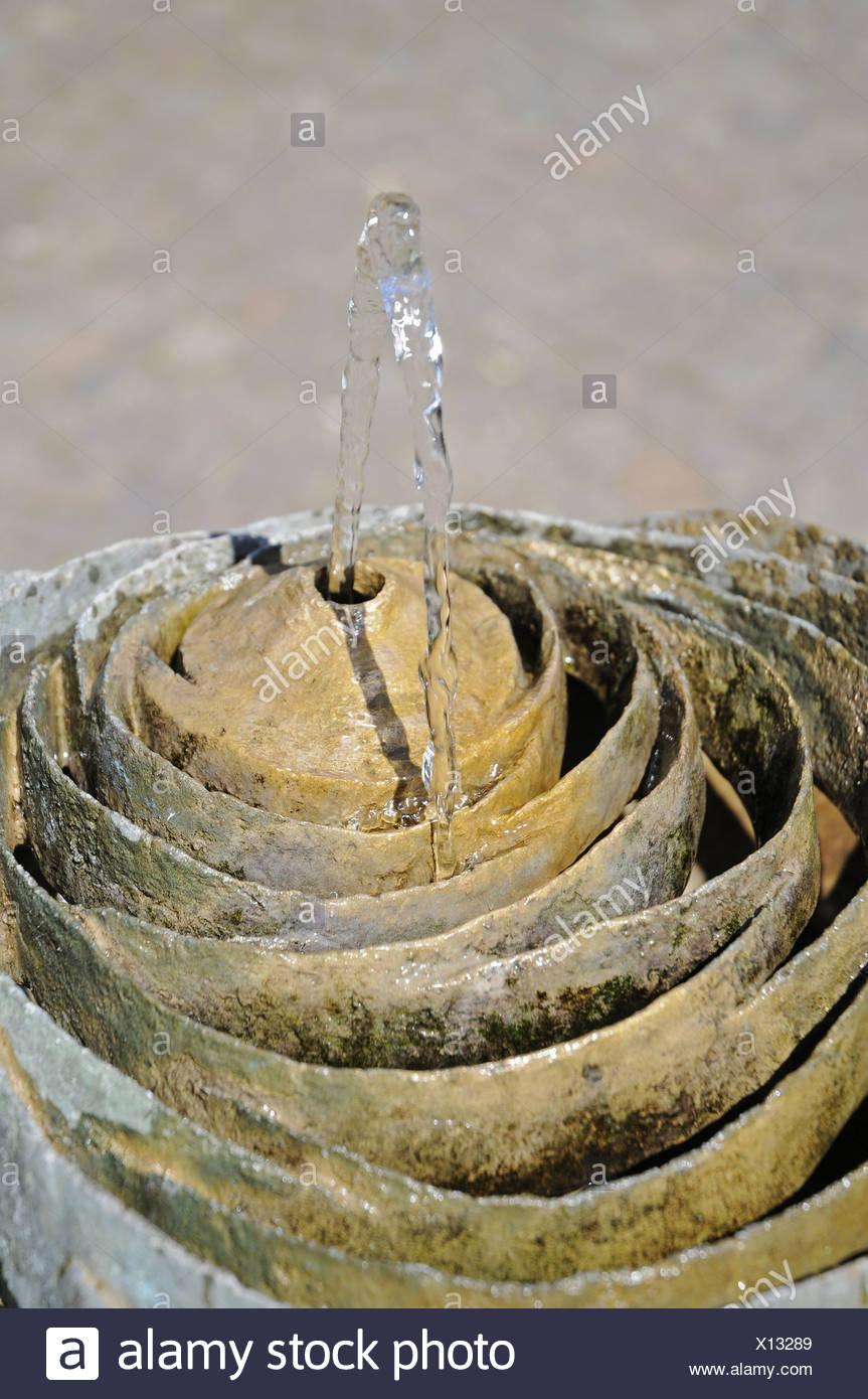 Trinkwasser Brunnen Stock Photo