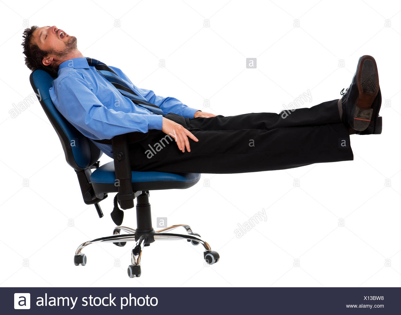men man sleep - Stock Image