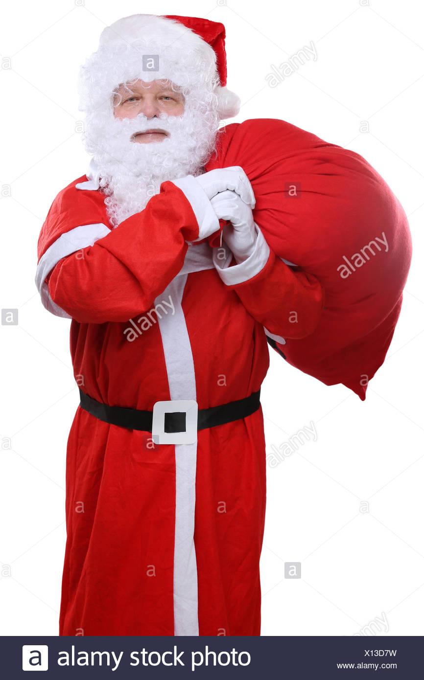 weihnachtsmann nikolaus sack geschenke r cken weihnachten. Black Bedroom Furniture Sets. Home Design Ideas