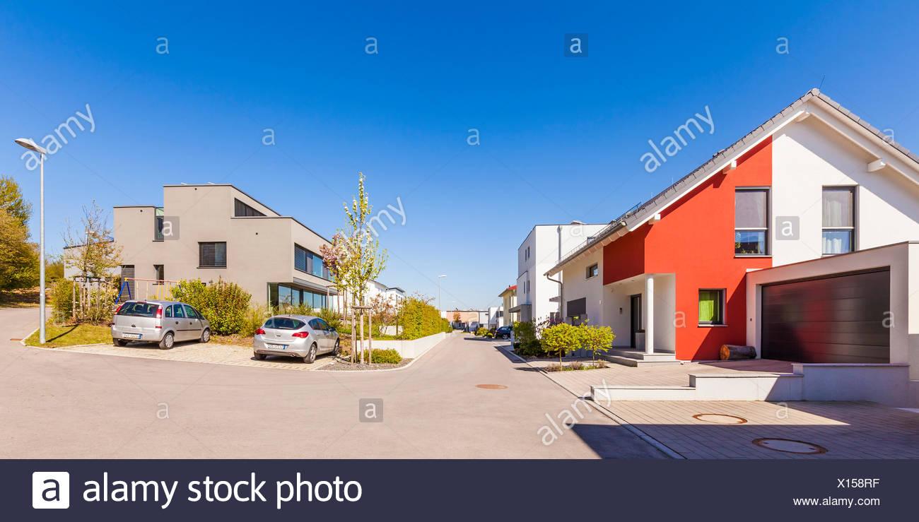 Wundervoll Moderne Einfamilienhäuser Galerie Von Deutschland, Baden-württemberg, Tein, Neubaugebiet, Einfamilienhäuser, Neubau, Häuser,