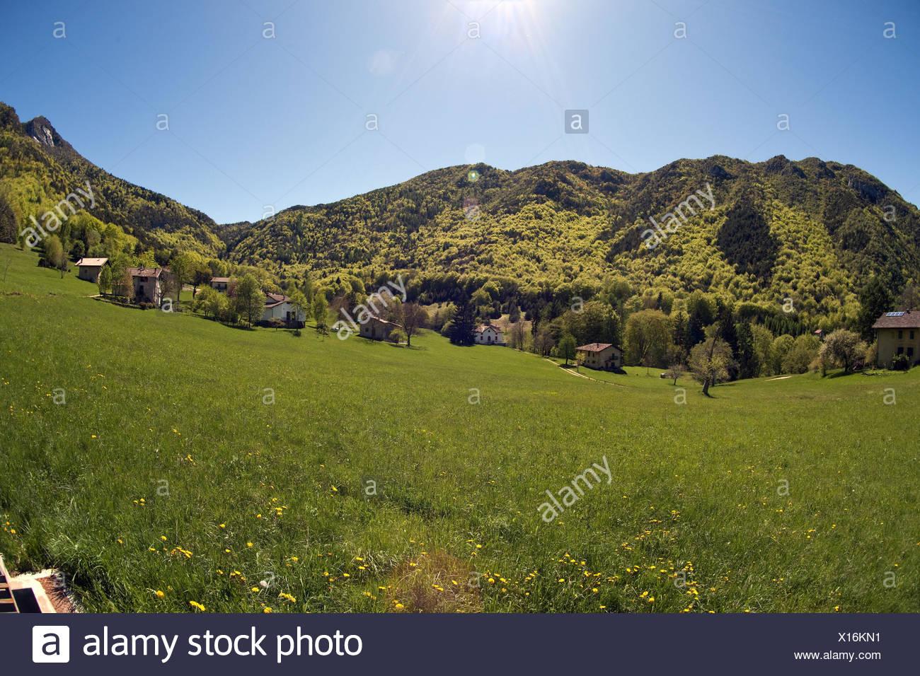 Italy, Trentino, St. Antonio, scenery, - Stock Image