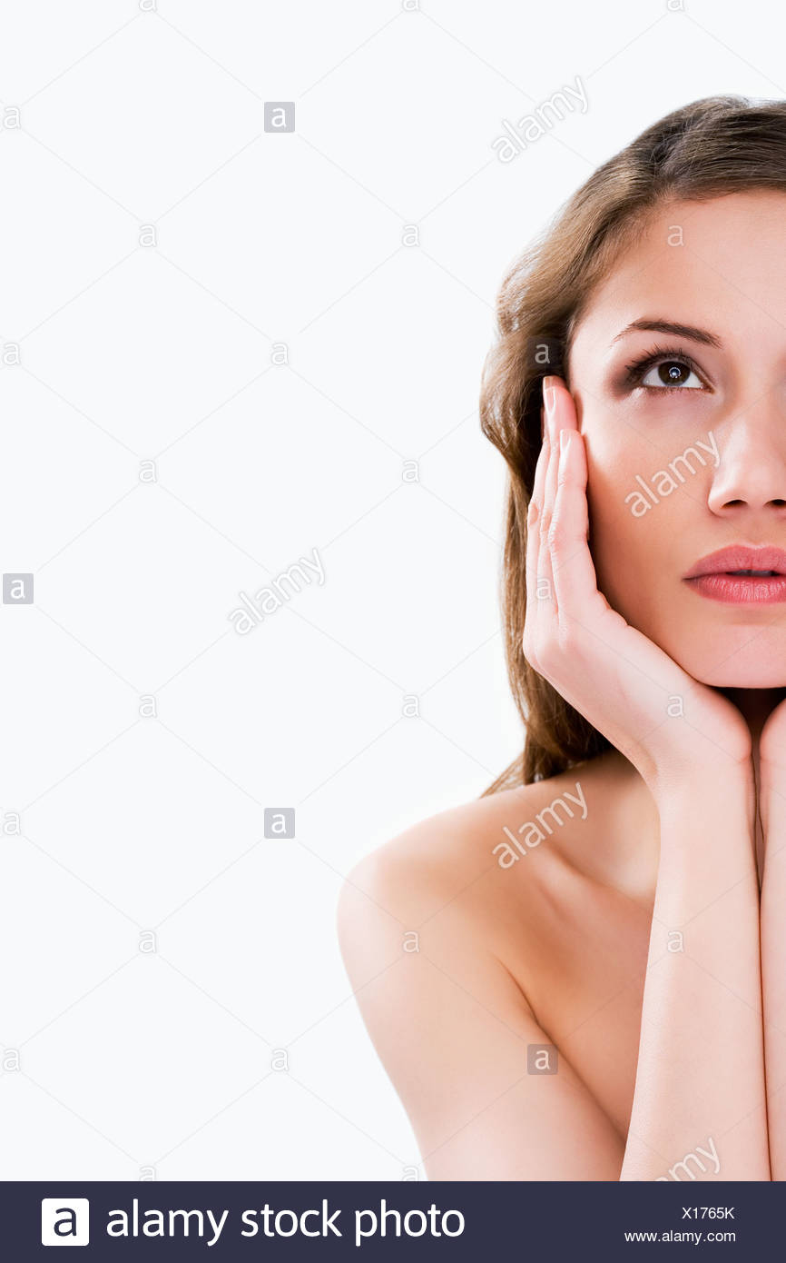 Portrait of a young women - Stock Image