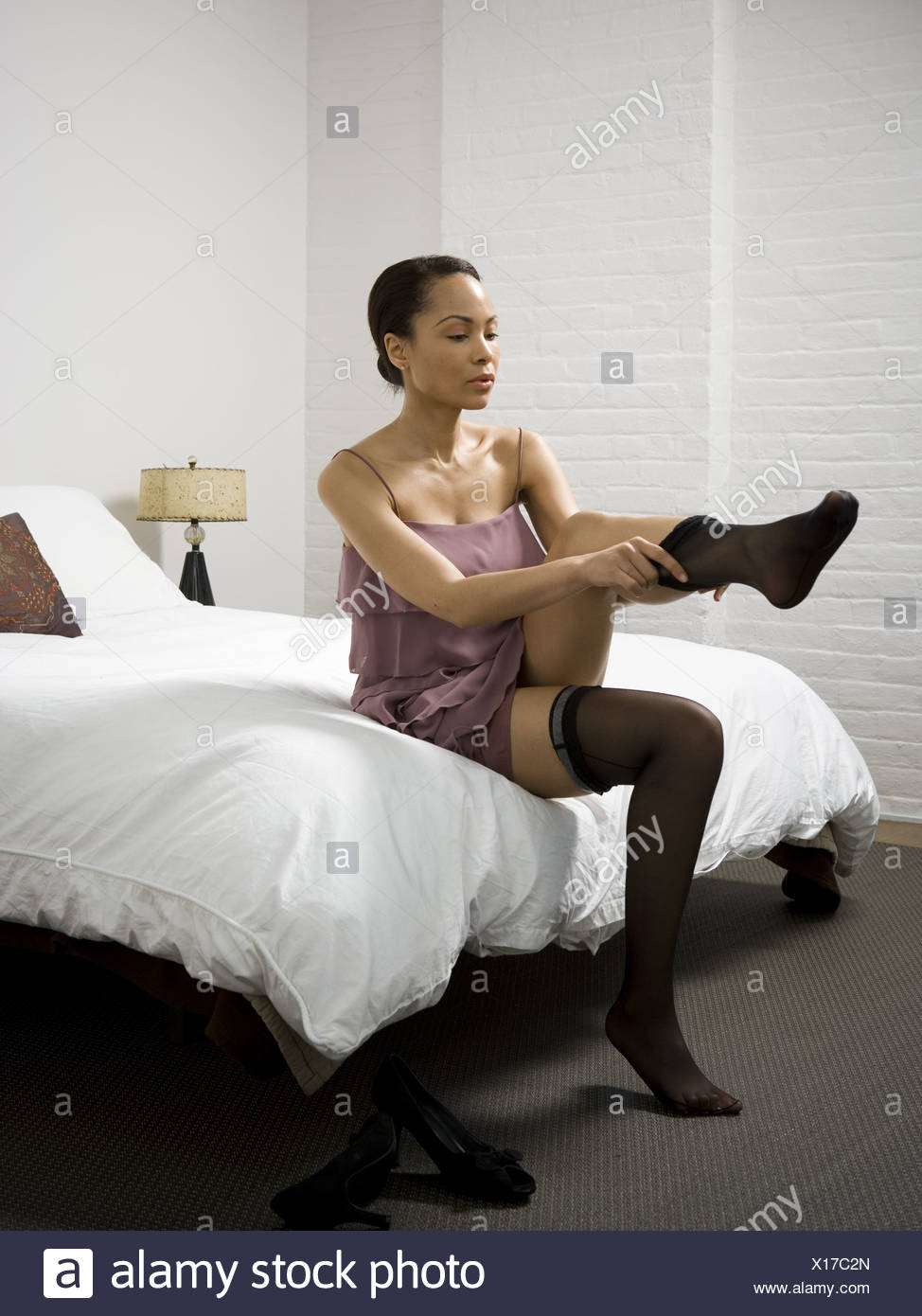 Thigh Highs Stock Photos & Thigh Highs Stock Images