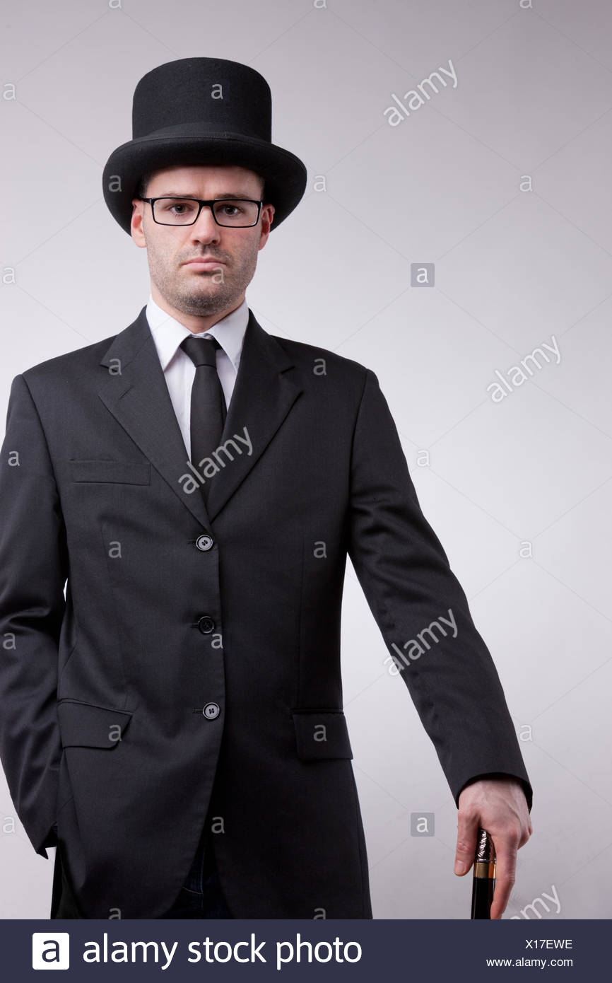 54703cac10a96 Top Hat Cane Stock Photos   Top Hat Cane Stock Images - Page 2 - Alamy
