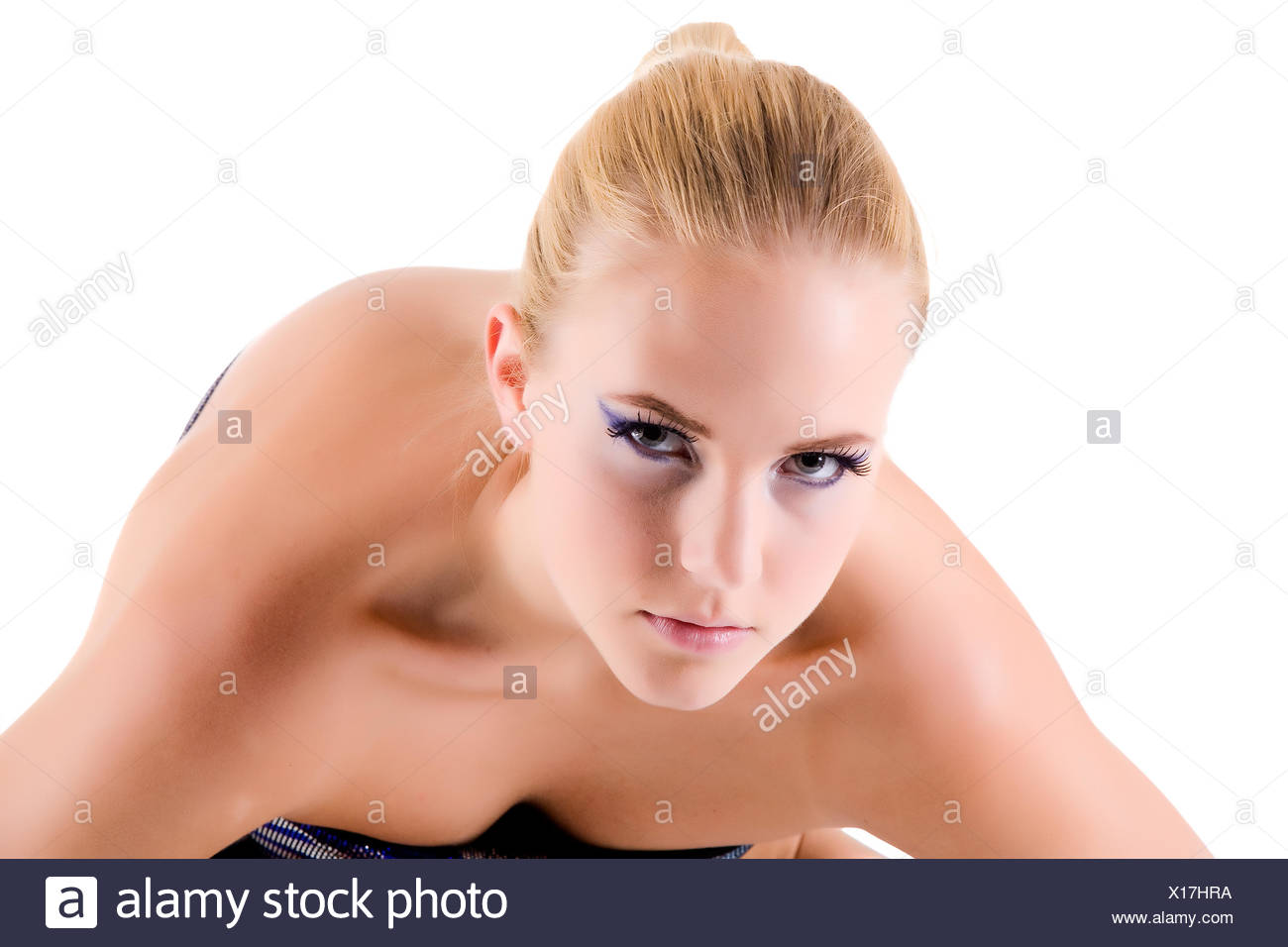 I am looking closely at you - Stock Image