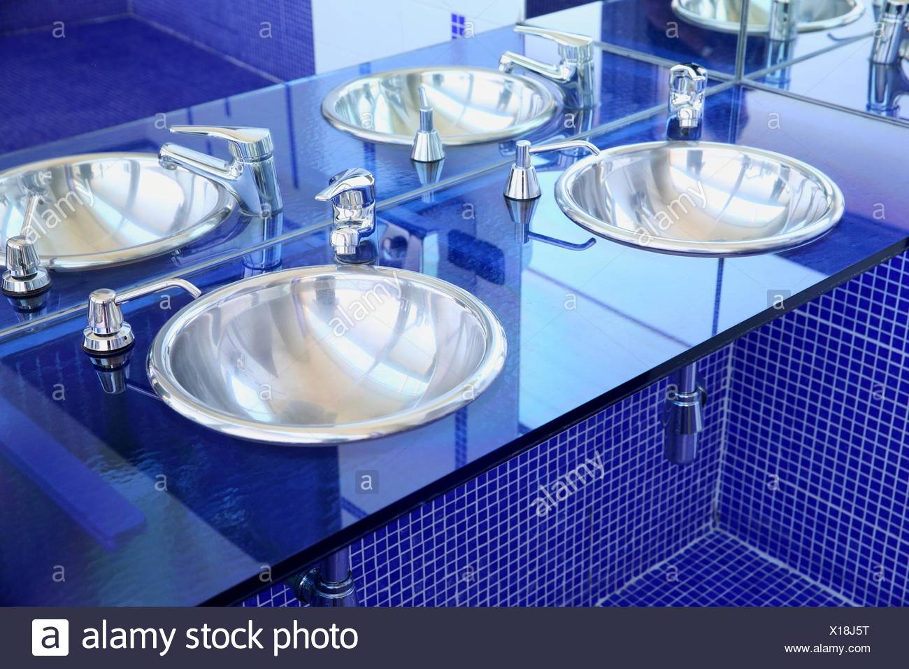 Washbasin, Sink, Toilette - Stock Image