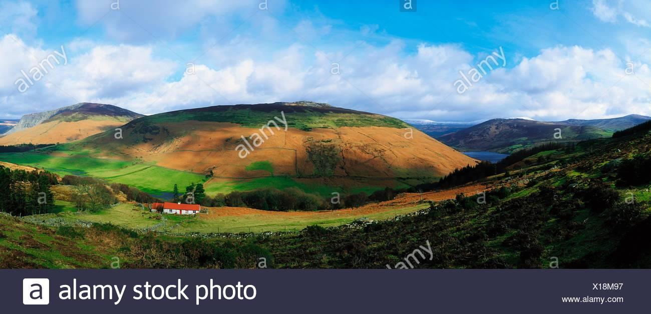 Lough Dan, Co Wicklow, Ireland - Stock Image