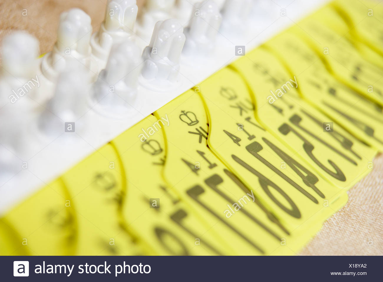 Identification Tags For Cattle - Stock Image