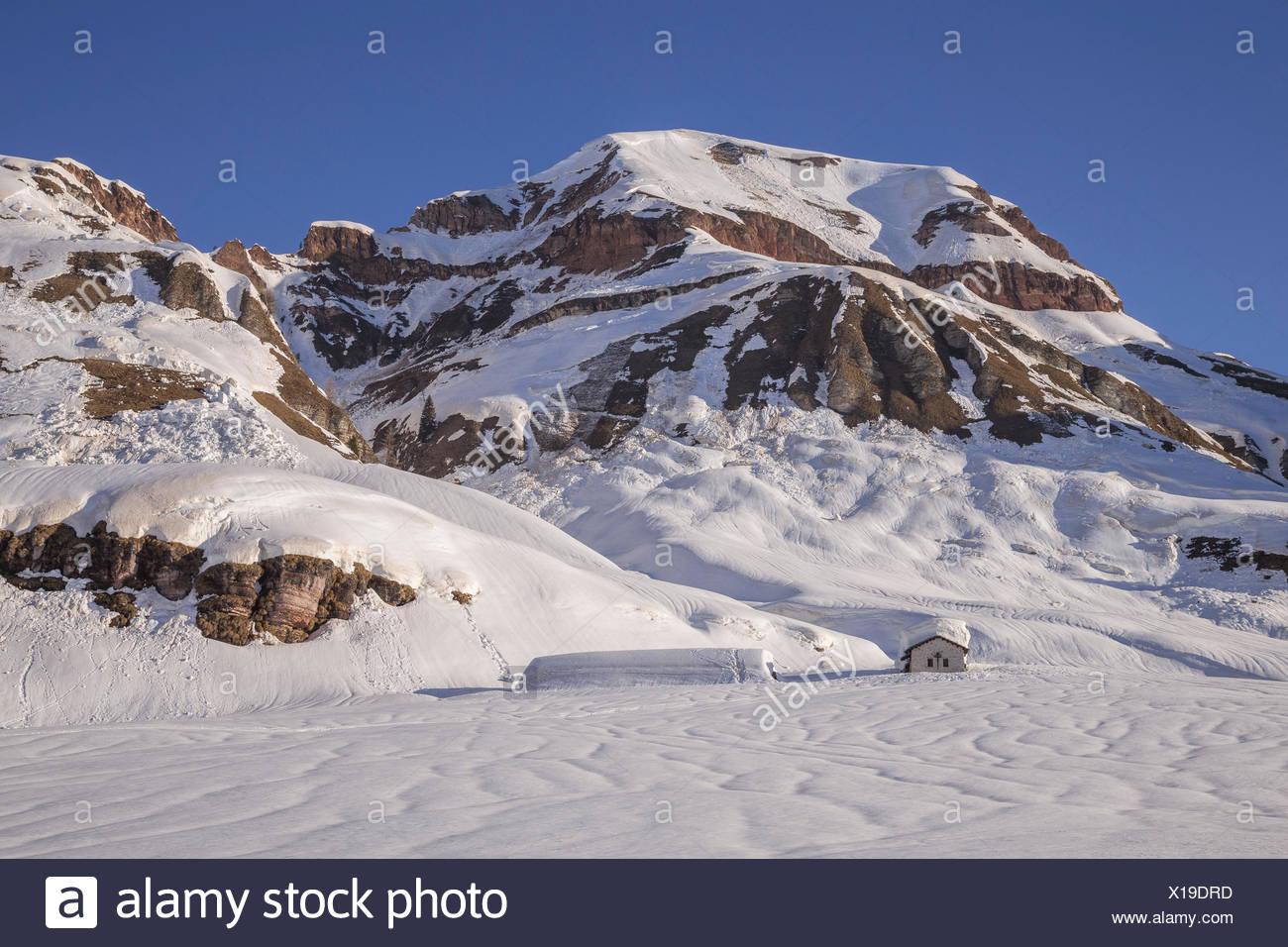 Parco delle dolomiti bellunesi ; malga Errera ; Belluno province ; Veneto region ; Italy ; Europe - Stock Image
