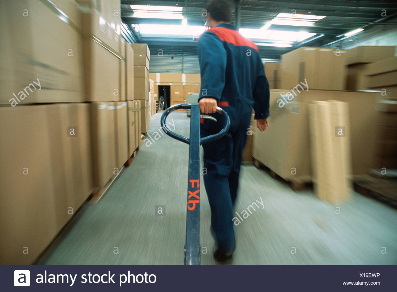 Warehouse worker - Stock Image