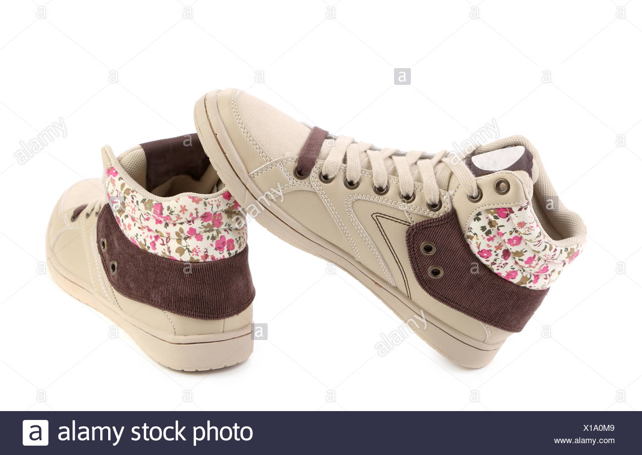 Modern shoes for girls Stock Photo - Alamy