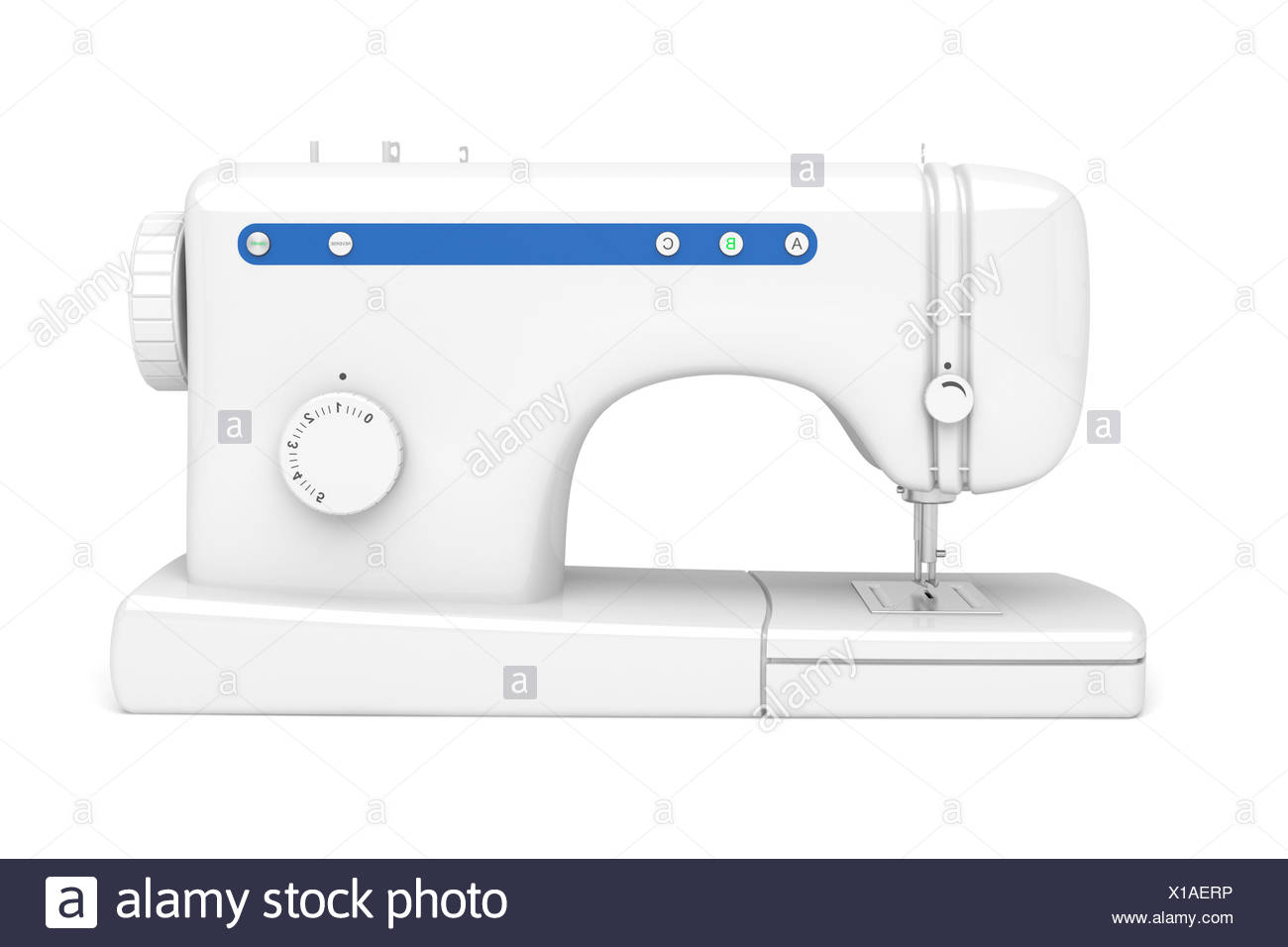 Sewing Machine Illustration Stock Photos & Sewing Machine ...