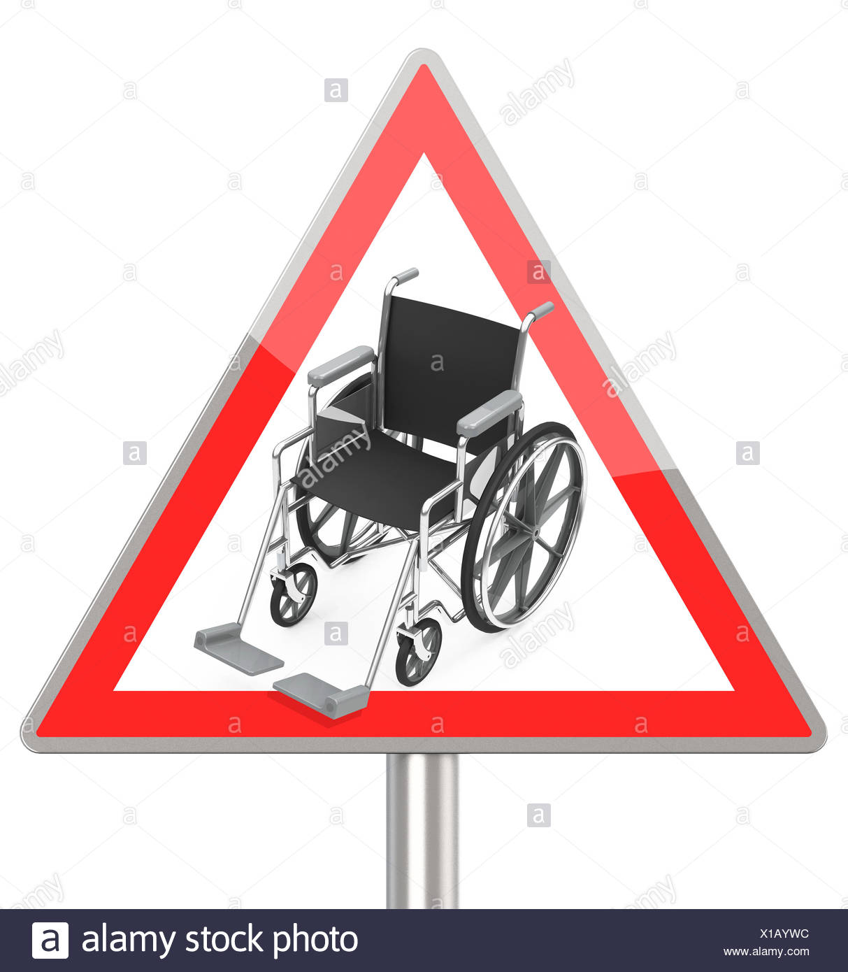 disability - Stock Image