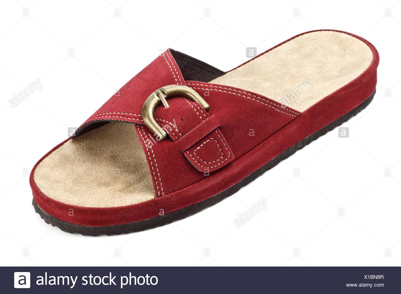 8c547be1b50 red slipper Stock Photo  276238727 - Alamy