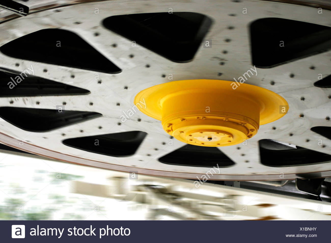 which rotates - Stock Image