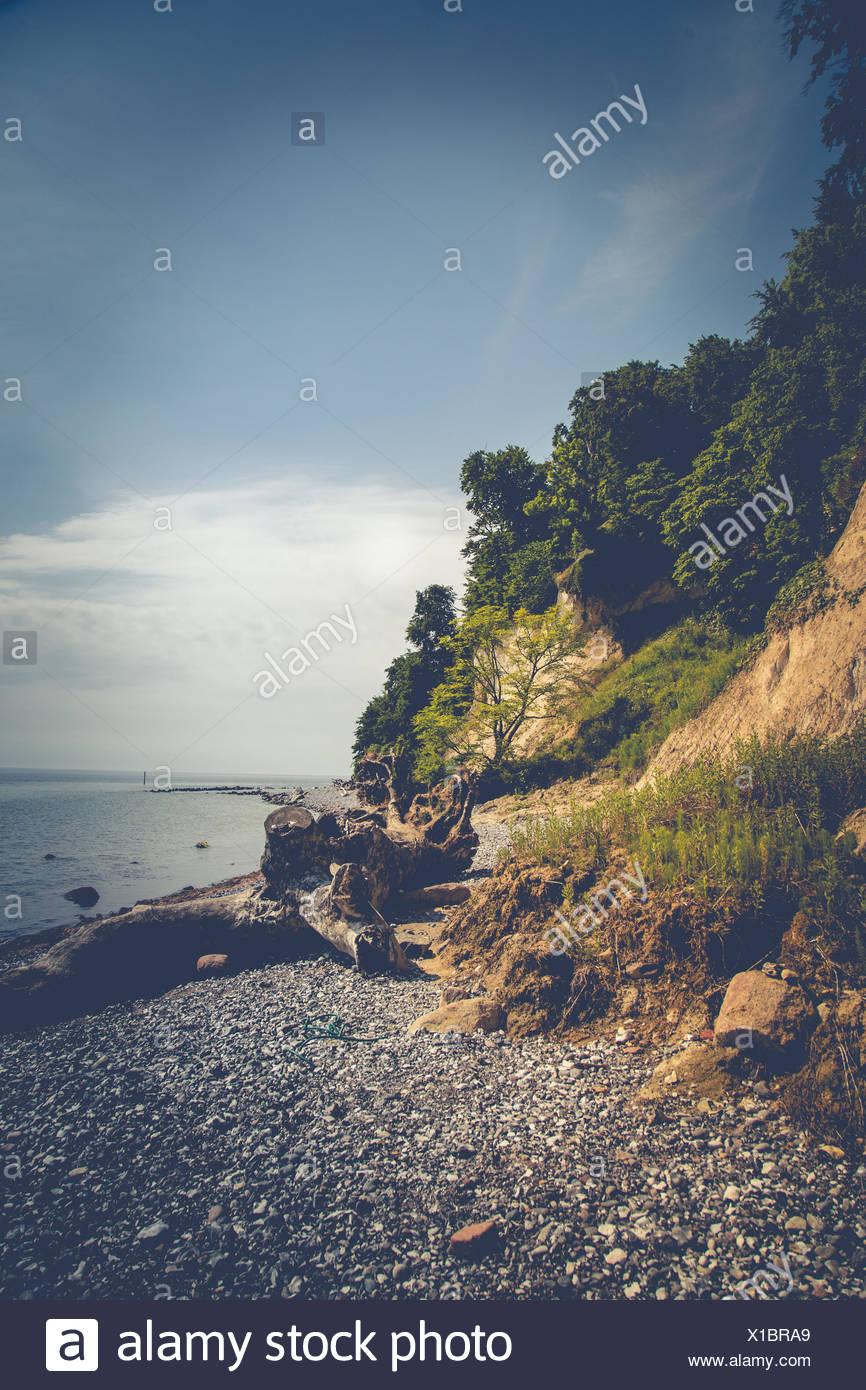 Jasmund National Park, coast, sea, Stock Photo