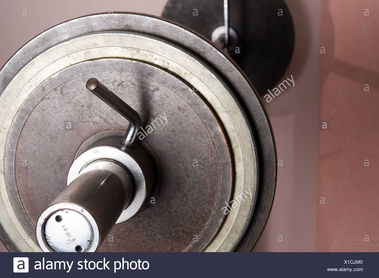 barbell - Stock Image