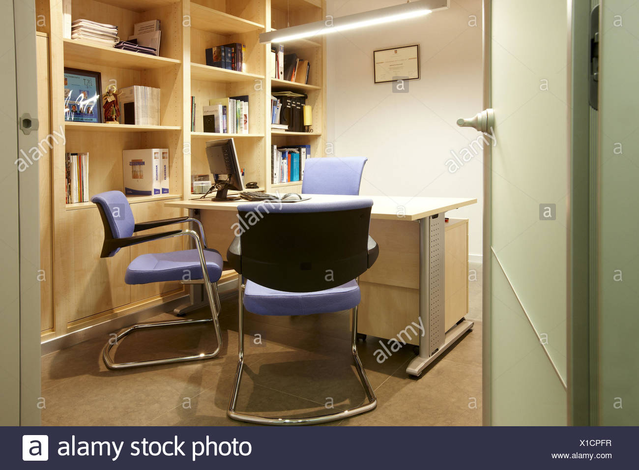 Office in dental clinic - Stock Image