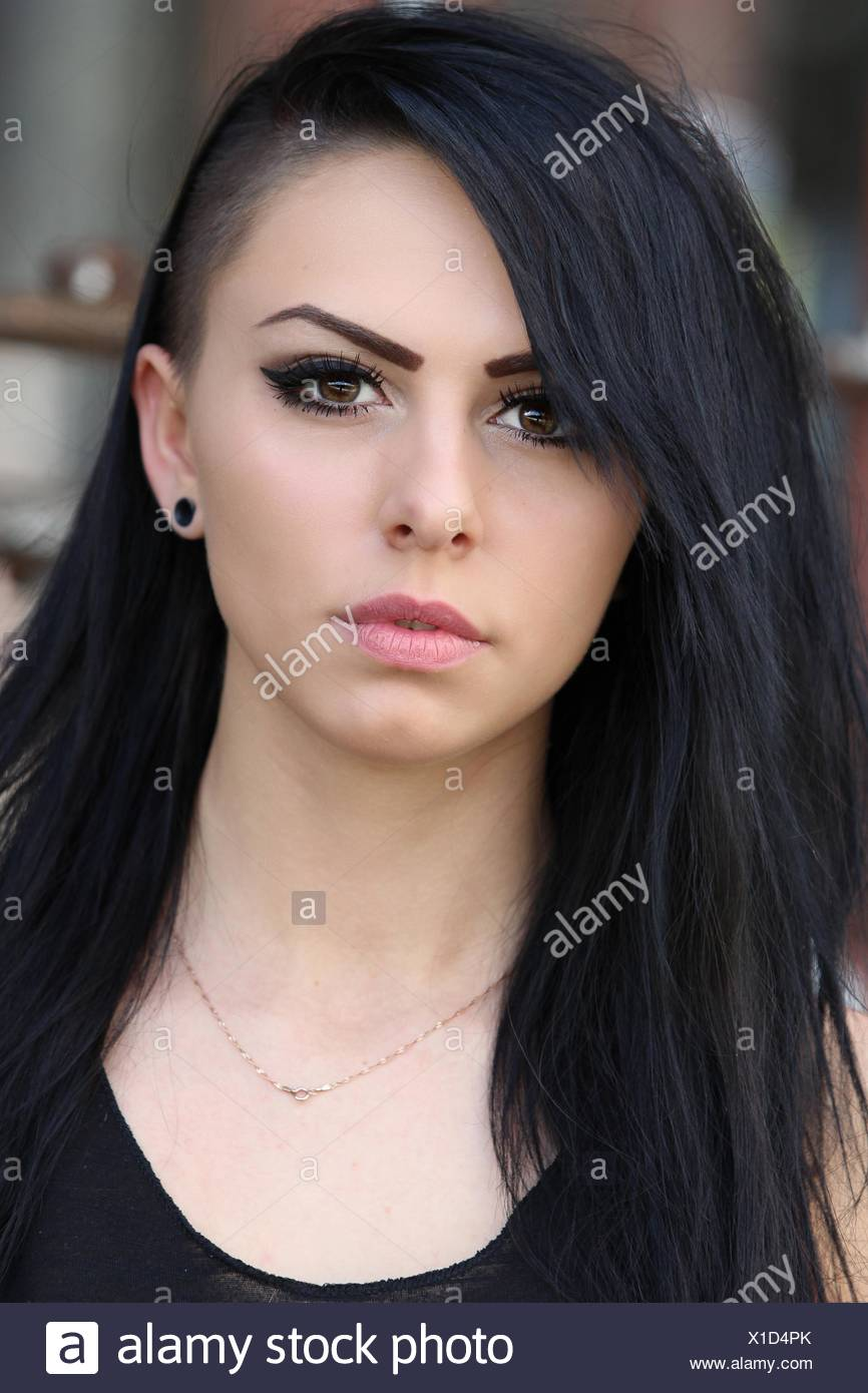 Woman With Sidecut Stock Photo 276269691 Alamy