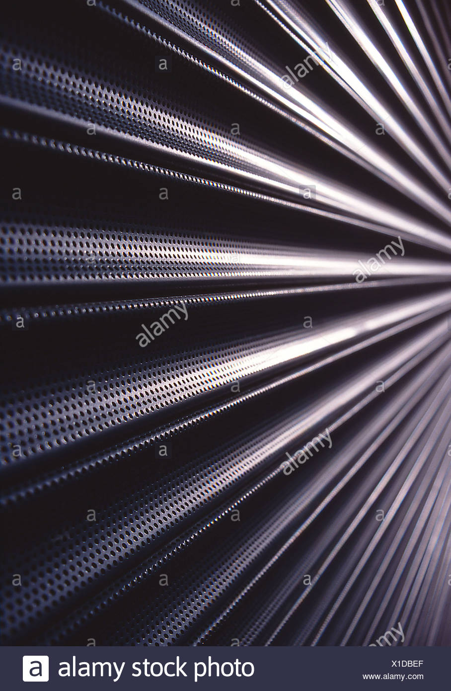 Close up of a shutter - Stock Image