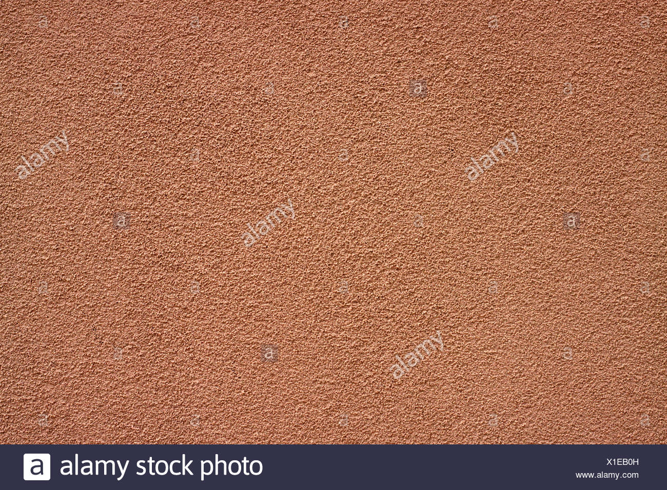 Background and Texture - Sand Rendered External Residential Wall - Stock Image