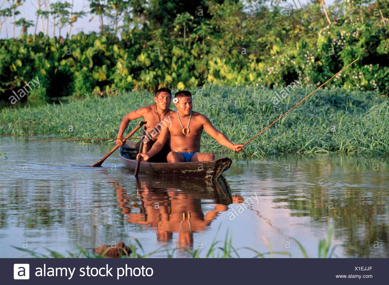 Brazil Amazon Indigenous People Stock Photos & Brazil ...