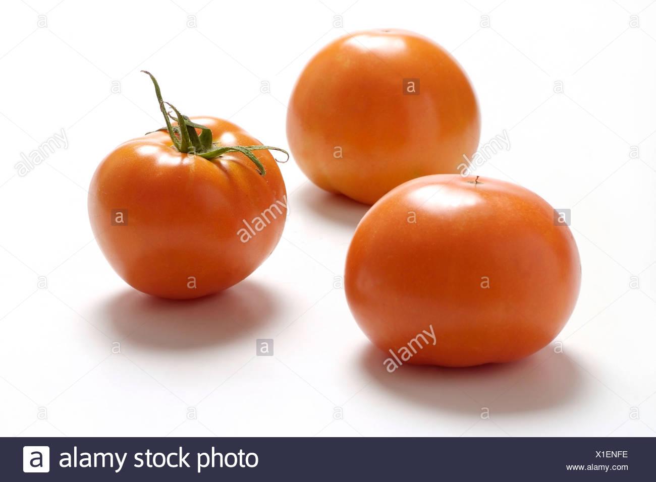 Tomato varieties: Carotina - Stock Image