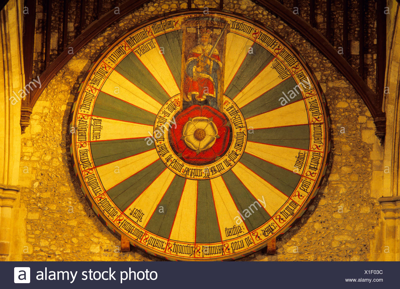 Knight of the round table stock photos knight of the round table stock images alamy - Round table winchester cathedral ...