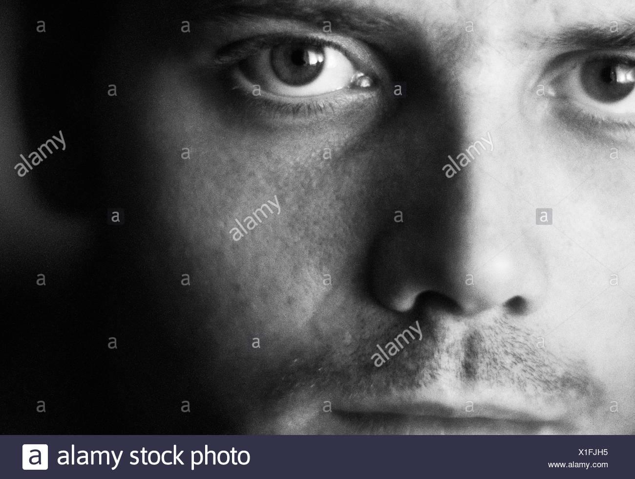 A man close-up Sweden - Stock Image