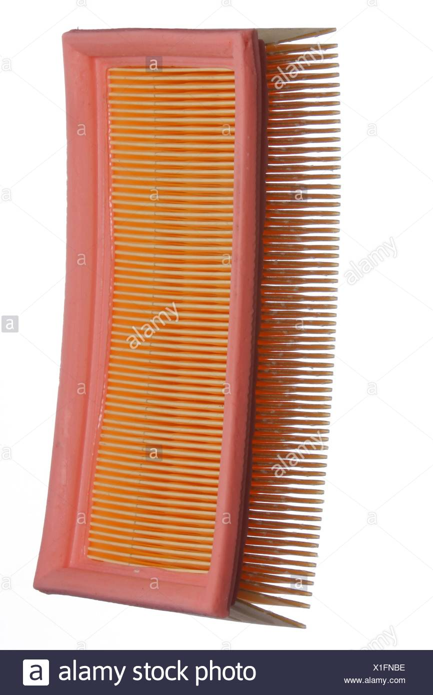Air Filter - Isolated Stock Photo