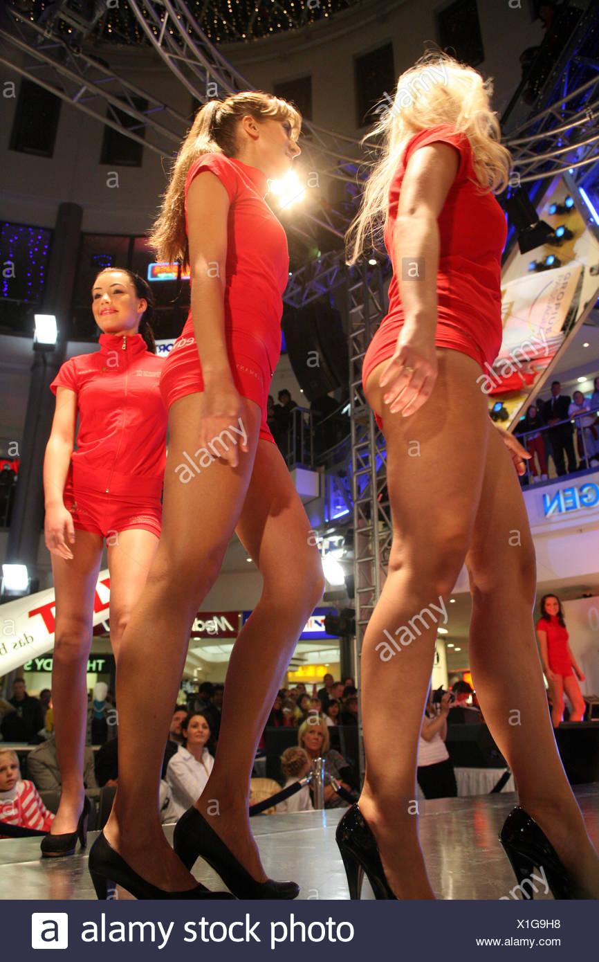 Berlin, Germany, the Miss Berlin 2009/2010 Stock Photo