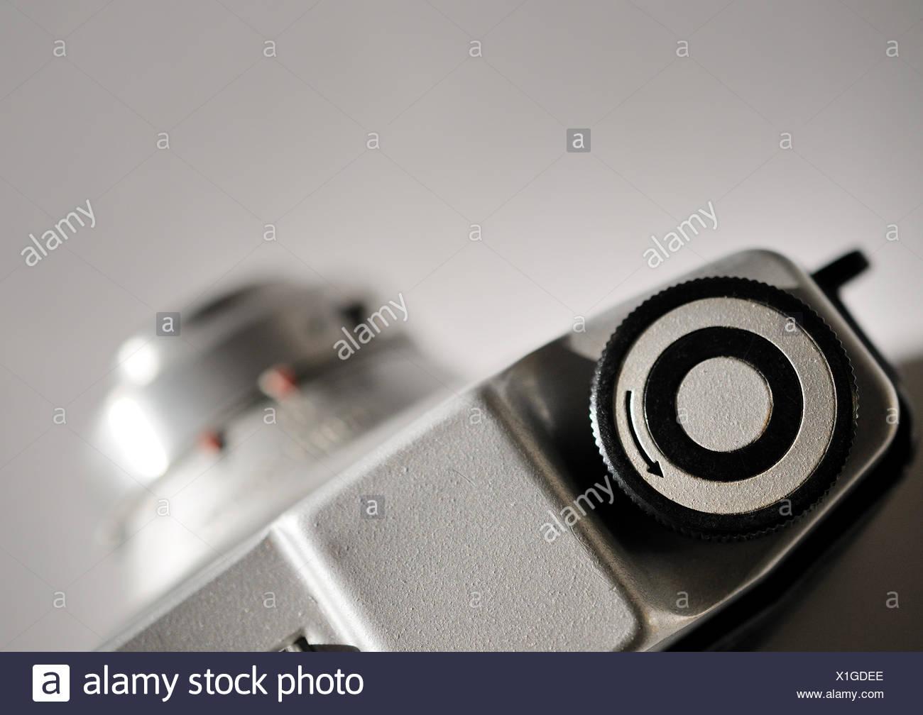 camera,analog,rangefinder camera - Stock Image