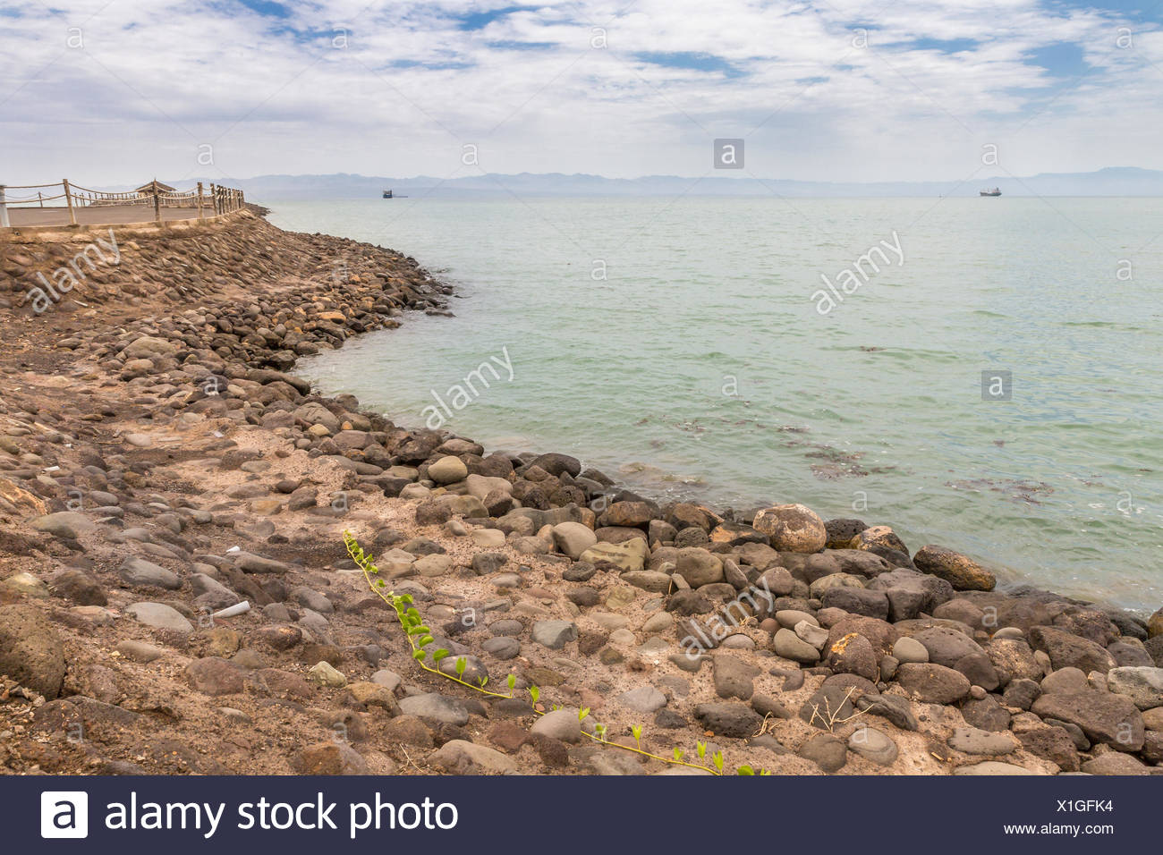 Red sea shores - Stock Image