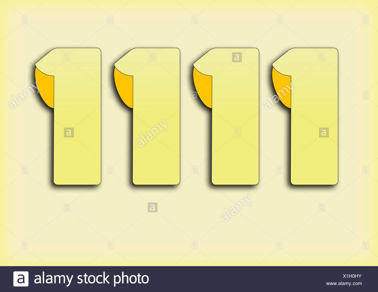 rectangle shaddow - Stock Image