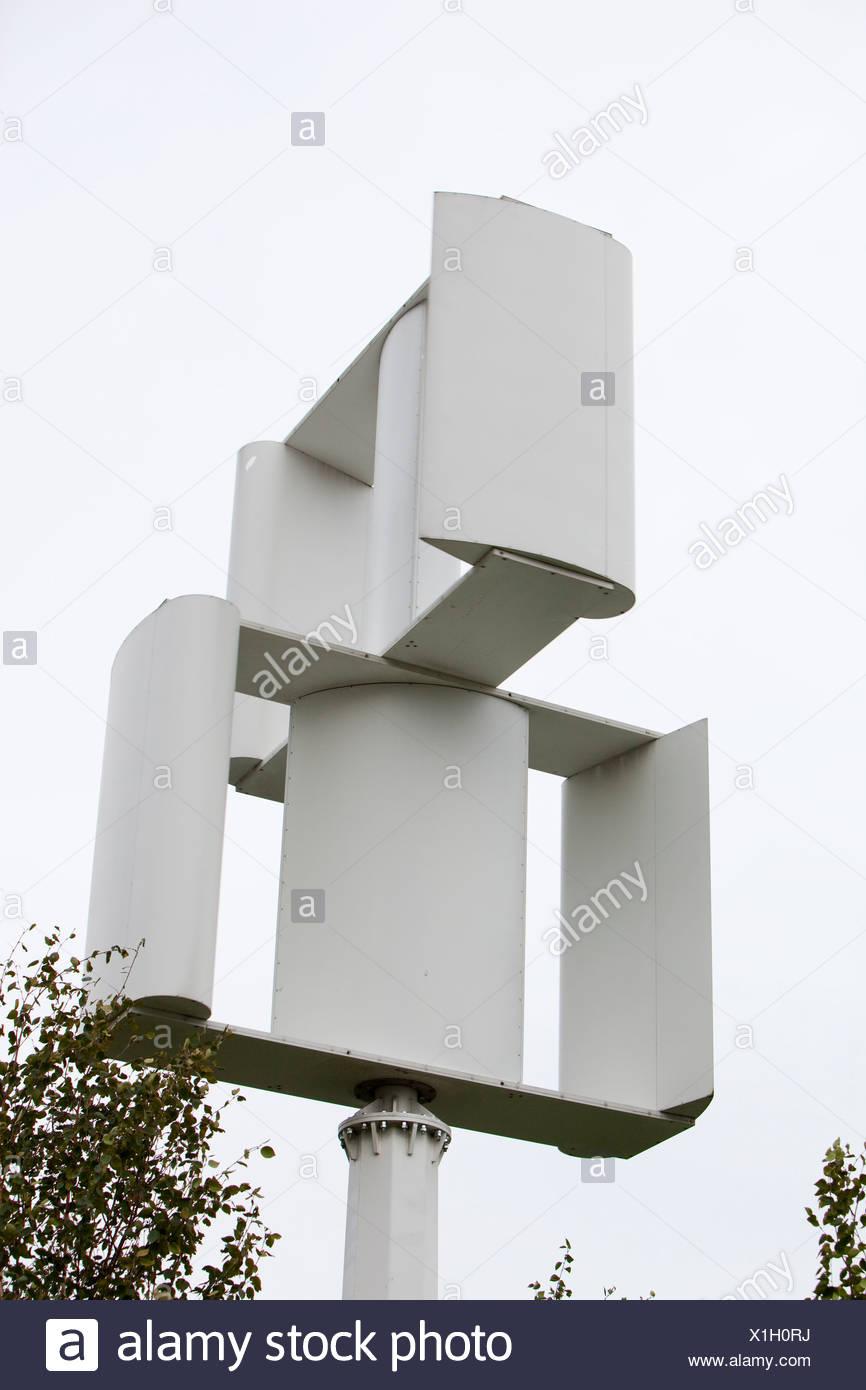 Vertical Axis Wind Turbine Stock Photos & Vertical Axis Wind Turbine
