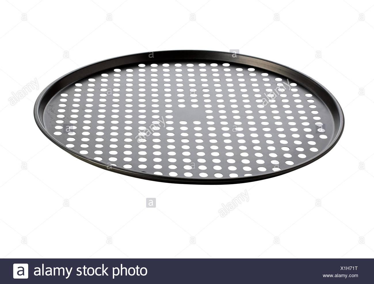 Pizza tray Stock Photo