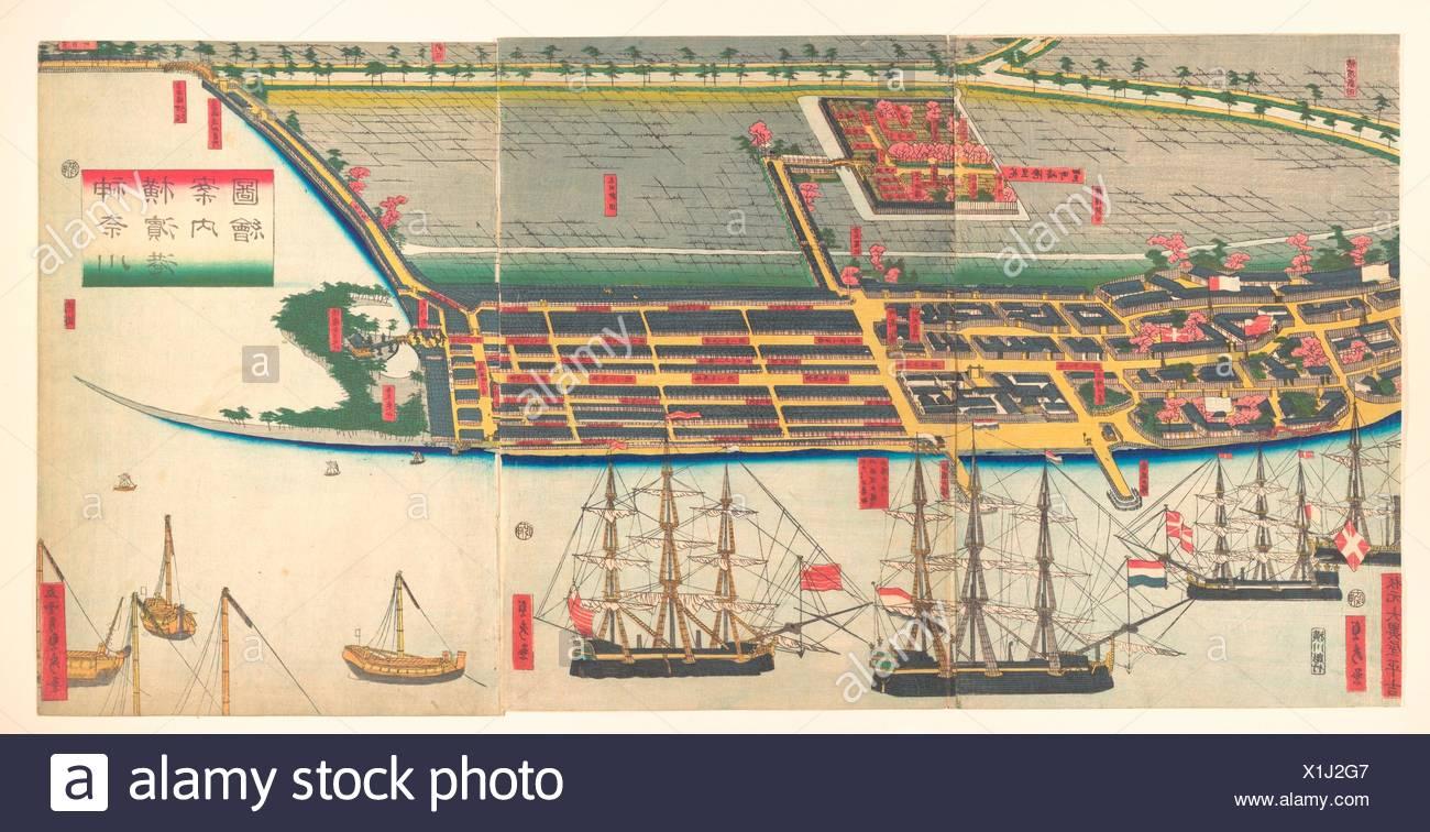 Kanagwa Yokohama minato.zue/Pictorial Guide to Yokohama Harbor ...