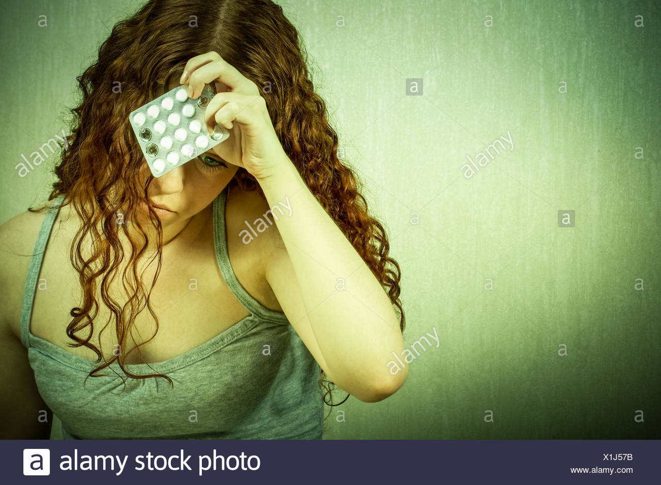 Condition of a hopelessness - Stock Image