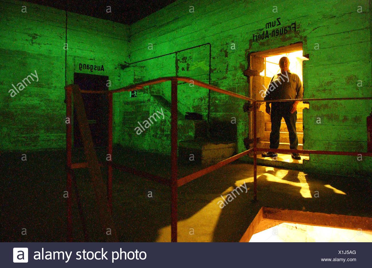 Berlin Underworlds e.V., Gesundbrunnen bunker - Stock Image