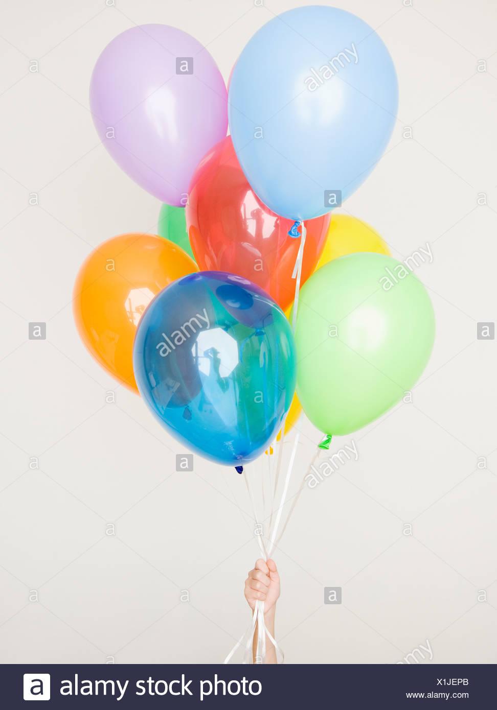 Helium Balloon Child Stock Photos & Helium Balloon Child