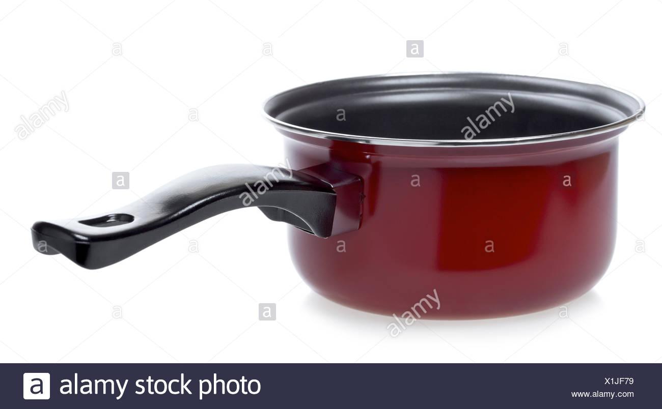 Red Stewpot - Stock Image