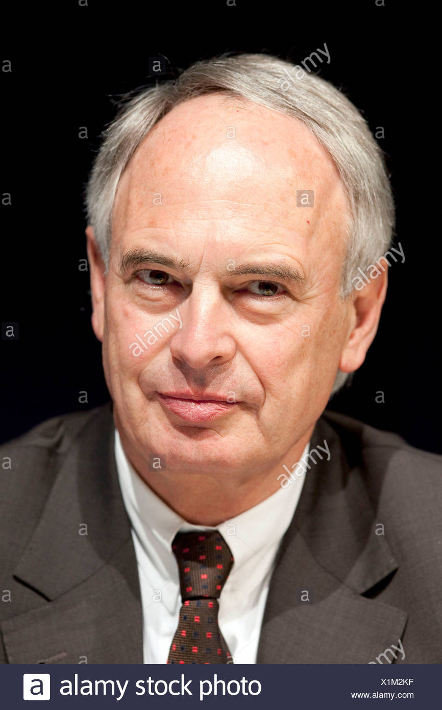 Hans-Peter Keitel, President of the Bundesverband der Deutschen Industrie, BDI, The Federation of German Industries - Stock Image