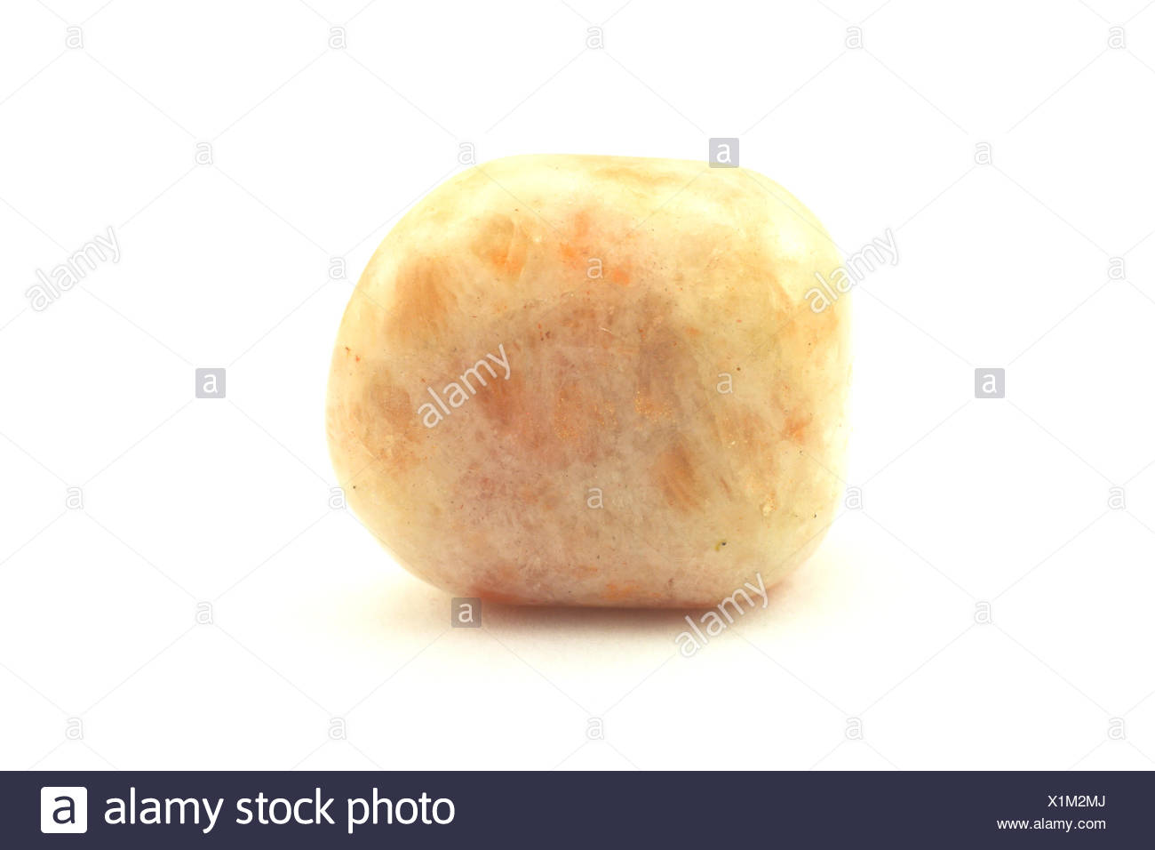 Sunstone Birth Stone. - Stock Image